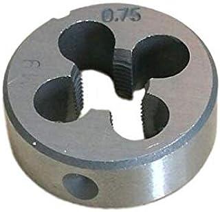 TOUHIA 3pcs Metric Right Hand Round Die Machine Thread Die M12x1 + M12x1.25 + M121.5
