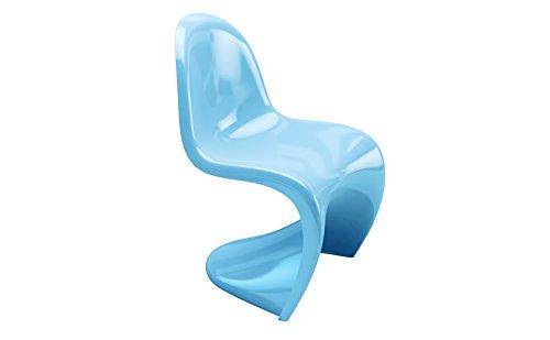 Designement Alpha kinderstoel kunststof/ABS hemelsblauw 70 x 60 x 46 cm