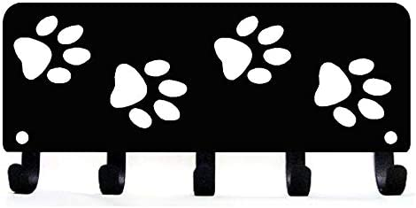 Walking Paws Key Rack Hanger Dog Leash Organizer Small 6 inch Wide Made in USA product image