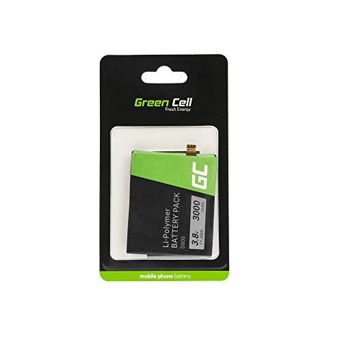 Batería de Repuesto Interna Green Cell BL-T7 Compatible con LG G2 D800 D802 | Li-Ion | 3000 mAh 3.8 V | Batería de reemplazo para teléfono móvil del Smartphone | Recargable
