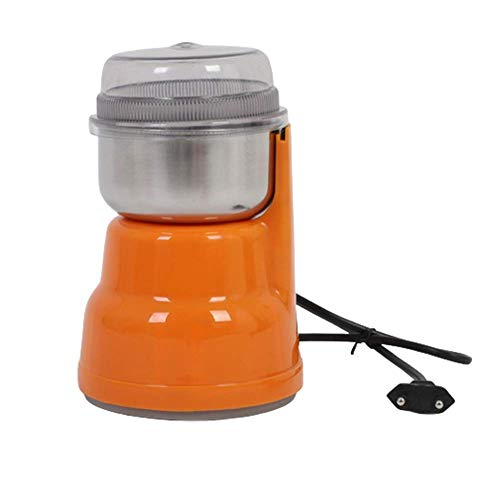 HaoLi Fresadora doméstica, Cabeza de Diamante de Cuatro Hojas, microinterruptor, la Tapa Abierta no Funciona, Adecuada para Granos/Granos de café/Especias