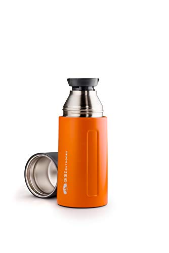 GSI Outdoors Glacier Stainless Vacuum Bottle .5L (Orange)
