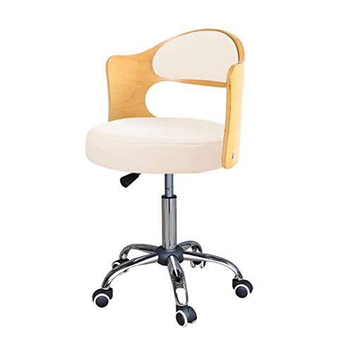 MJ-Office Chair Estudie la Silla del Escritorio de la Oficina Que Levanta la Silla giratoria del Respaldo Silla Casual del Respaldo para la Silla de Escritorio del hogar/de la Oficina/del Estudio