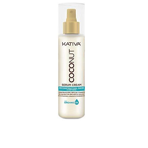 Kativa Coconut Serum en Crema Reconstructivo, Hidratante y Desenredante - 200 ml