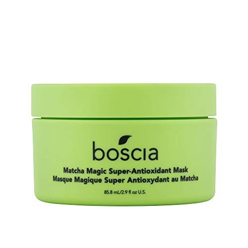 boscia Matcha - Vegan, Cruelty-Free, Natural and Clean Skincare   A magic Super-Antioxidant Mask, Detoxifying and Brightening Matcha Green Tea Facial Mask, 0.83 Fl Oz