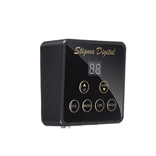 U - LCD digitale RCA & DC accu adapter voeding voor roterende apparaat tatoeëermachine