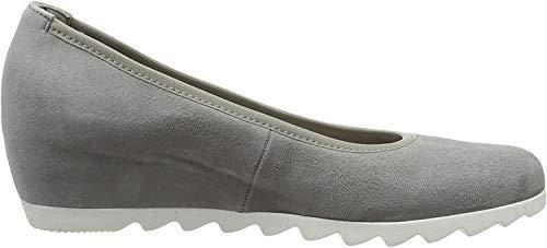Gabor Shoes Damen Basic Pumps, Grau (Grau (S.Weiss), 38.5 EU