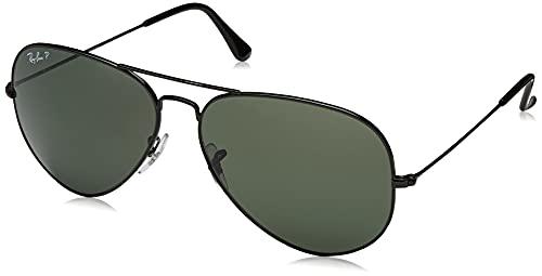 Ray-Ban - Gafas de sol Aviador RB3025 Aviator Large Metal, Black (schwarz)