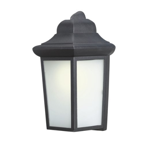 Woodbridge Lighting 60014WL-BKP Outdoor Light, Powder Coat Black
