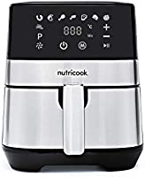 Nutricook Rapid Air Fryer by Nutribullet, 1700 Watts, Digital Control Panel Display, 8 Preset Programs with built-in...