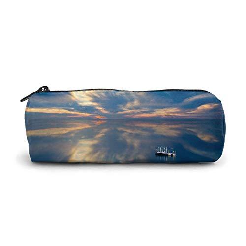 The Magic of The Sky Étui à stylo, étui à lunettes, trousse cosmétique, facile à transporter, pour homme et femme.