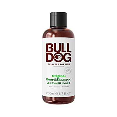 Bulldog Original 2-in-1 Beard Shampoo and Conditioner 200 ml(Packaging may Vary) from Bulldog Skincare