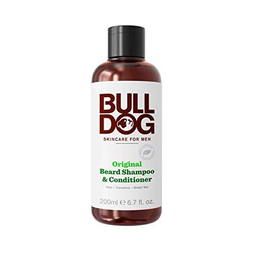 Bulldog Original 2-in-1 Beard Shampoo and Conditioner, 200ml
