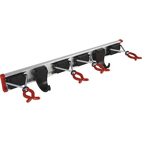 Bruns - Soporte de pared para herramientas (0,5m, se incluyen 4 soportes y 2 ganchos)