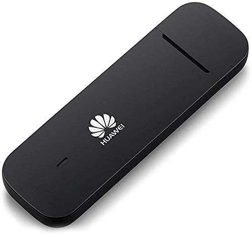 HUAWEI desbloqueado E3372 LTE/4G 150 Mbps USB Mobile Internet Dongle (negro) - Para uso con cualquier tarjeta SIM en todo el mundo (nuevo modelo 2020)
