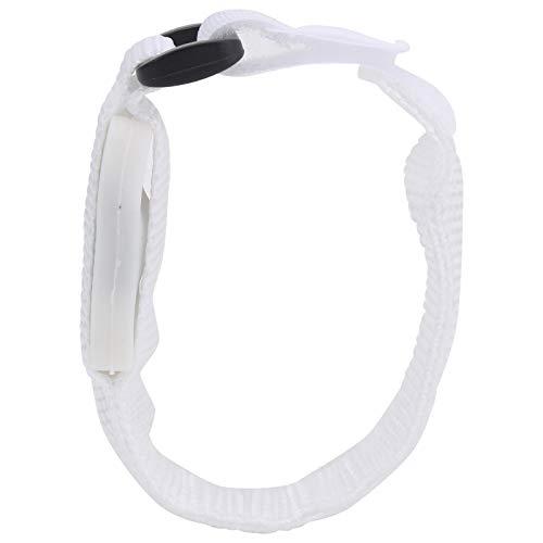Cinturón reflectante, brazalete LED ligero ajustable de 24 cm, tren de rodaje de seguridad que brilla en la oscuridad