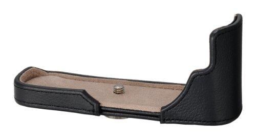 Olympus CS-30B Kameratasche (Leder) für E-P3 schwarz