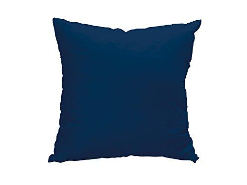 Soleil docre 527240 Funda de cojín 40x40 cm Alix Azul Marino