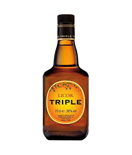 LICOR TRIPLE SEC TRIPLE 70CL (1 BOTELLA)
