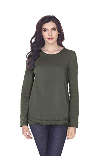 Neon Buddha Women's Thompson Top, Fern, S