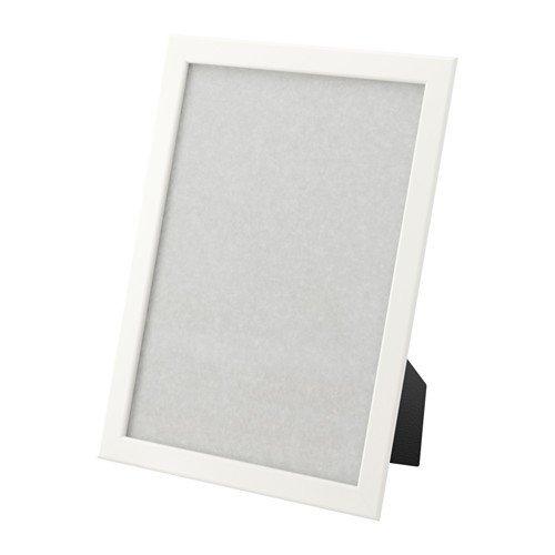 IKEA FISKBO Rahmen in weiß; (21x30cm)