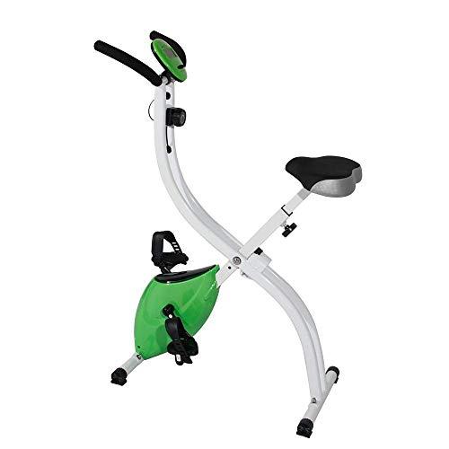 ZAIHW Exerpeutic Plegable magnético Bicicleta de Ejercicio Vertical