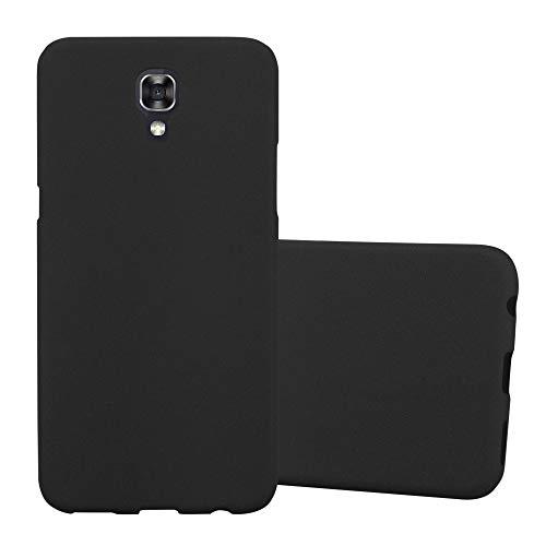 Cadorabo Custodia per LG X Screen in Frost Nero - Morbida Cover Protettiva Sottile di Silicone TPU con Bordo Protezione - Ultra Slim Case Antiurto Gel Back Bumper Guscio