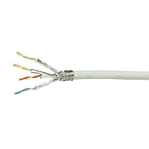 Faconet® LAN Netzwerk-Kabel Verlegekabel Cat.6 S/FTP, ISO/IEC 11801, TIA/EIA 568, weiß (100 Meter)