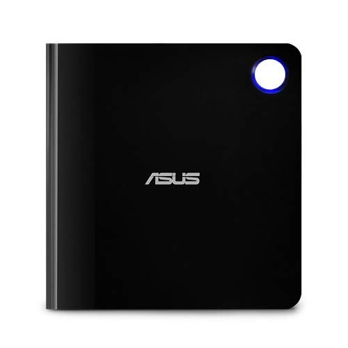 ASUS SBW-06D5H-U BDXL External Ultra Slim Blu-ray and MDisc Burner USB 3.1 Type USB-C (Black)