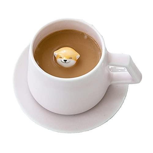 SXXYTCWL Taza de cerámica de la Taza de café Caramel DE LA HOGAR Macchiato Latte Latte Cup DE LA Oficina DE LA Oficina DE LA Oficina DE LA Oficina DE LA Taza DE Agua DE LA Taza DE Agua Utensils DE LA