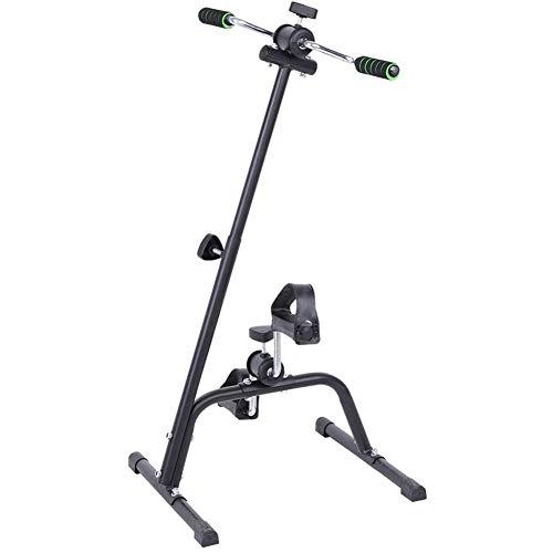 Ejercitador de brazos y piernas para bicicleta estática - Máquina vendedora de ejercicios para brazos y piernas - Ejercitador de pedal portátil - Equipo de fitness para personas mayores y ancianos