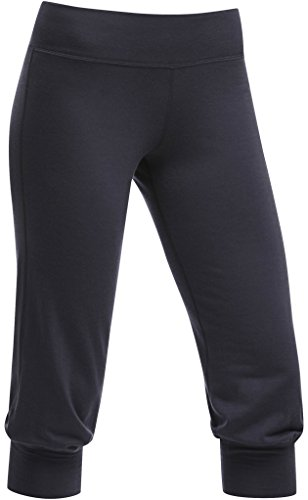 Icebreaker Women's Spirit Capri, Panther, Large