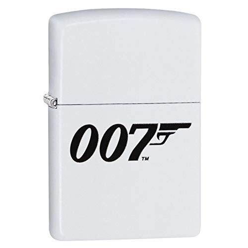 Zippo Feuerzeug James Bond BOND-214-Zippo Collection 2019-60004202-46,95 €, Silber, smal