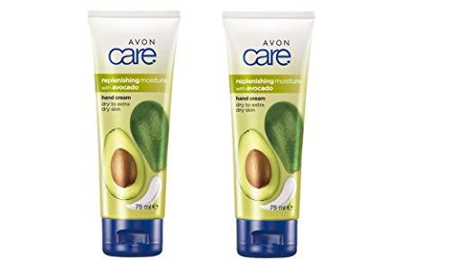 2 x 75 ml Avon Care Avocado Feuchtigkeitsnachschub Handcreme