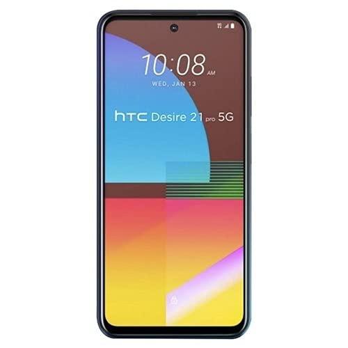 HTC Desire 21 Pro 5G 128GB 8G RAM Factory Unlocked (GSM Only | No CDMA - not Compatible with Verizon/Sprint) International Version - Blue