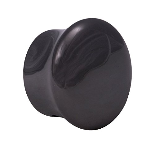 Riel Chyc - Terminal Tapón Zirconio Ø 20 mm. 2 piezas Riel Chyc Níquel negro 21,5 x 33,5 x 33,5 mm.