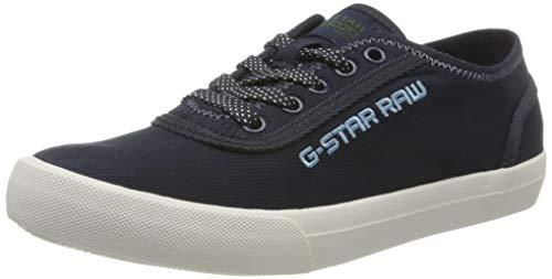 G-STAR RAW Mädchen Velv Sneaker, Blau (Mazarine Blue 869-4213), 35 EU