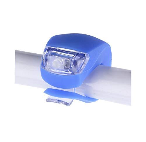 Fahrradbeleuchtung wasserdichte Silikon-LED-Vorder- und Rückbeleuchtung Fahrradnabenbeleuchtung Scheinwerfer mit Batterie Fahrradzubehör