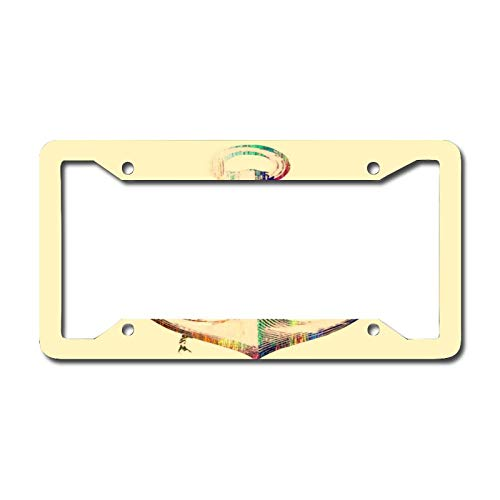 Royal Light Nautical Anchor License Plate Frame, Decorative Car Front, Metal Car Plate, License Plate, Vanity Tag, Aluminum Noverlty License Plate for Men/Women/Boy/Girls Car 6.3 X 12.2 Inch
