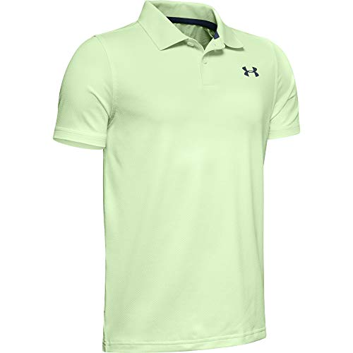 Under Armour Jungen Poloshirt Performance Polo 2.0, Grün, YSM, 1342083-369