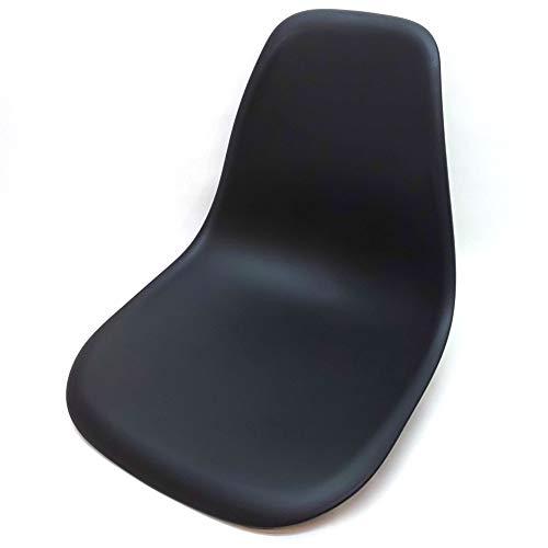ボートシート 船舶用 チェア 椅子 キャプテンシート マリンシート 座面 全10色 船 船舶 ボート 椅子 プラスチック (ブラック)