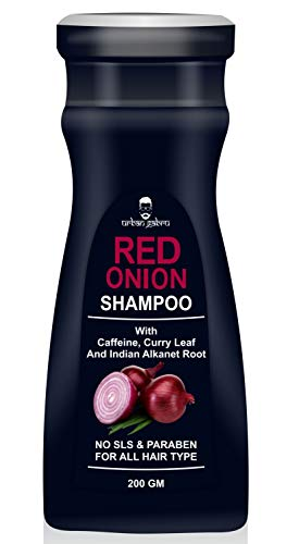 UrbanGabru Onion shampoo for hair growth & hairfall control - Paraben & Sulphate free 200gm