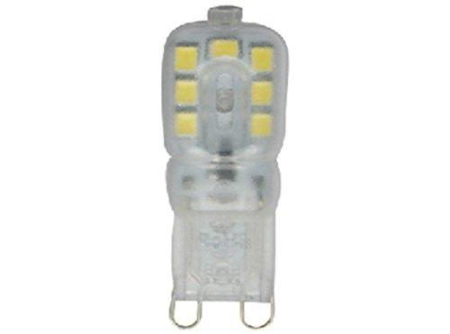 electrodiesa. 111029-Lampada ilumin LED attacco bispina G93W 300LM 6400K starson