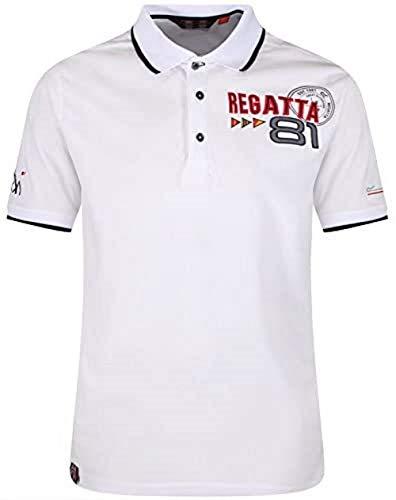 Regatta Tremont II T-Shirt à Manches Longues pour Homme L Blanc