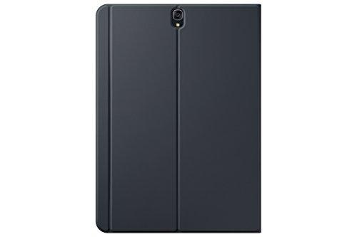 Samsung Tablet Tasche EF-BT820PBEGWW Book Hülle (leichteres Design, mattes Finish, geeignet für Galaxy Tab S3, SM-T820, SM-T825) schwarz