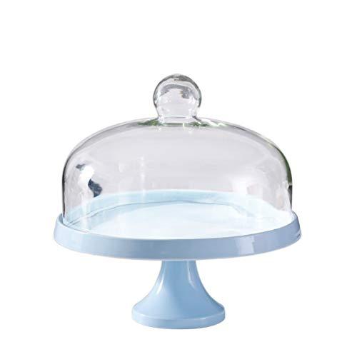 Z-W-DONG Cake Box - Juego de cubiertos de porcelana y cristal, bandeja de servir para ensalada, hotel, dressing, conservación, fiesta,