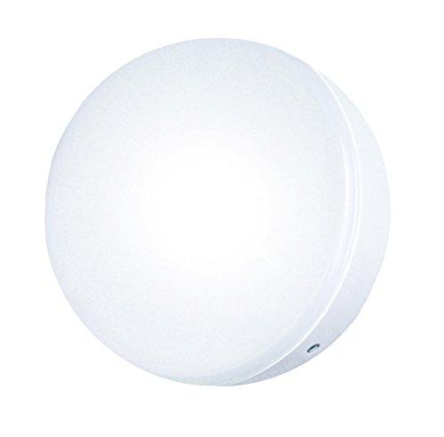 Osram Dulux Rondel Sensor, Wand- und Deckenlampe mit Sensor, 9W, 230V, 600 Lumen, 50Hz