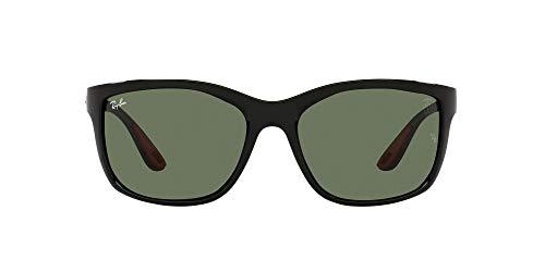 Ray-Ban 0RB8356M Gafas, Black, 61 Unisex Adulto