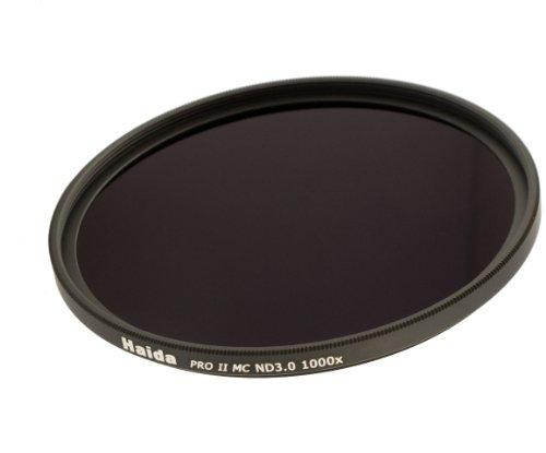 Haida PRO II Serie MC (mehrschichtvergütet) Neutral Graufilter ND1000 - 67mm - Inkl. Cap mit Innengriff