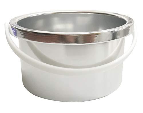 Crisnails - Calentador de Cera Eléctrico para la Depilación Profesional 500ml, Color Blanco